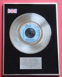JACKSONS - WALK RIGHT NOW PLATINUM Single Presentation Disc